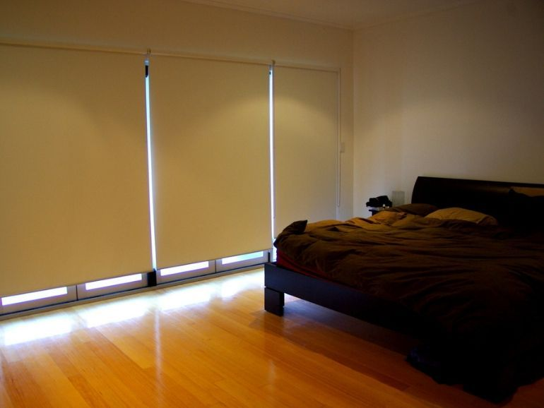 Cortinas enrollables en tela blackout